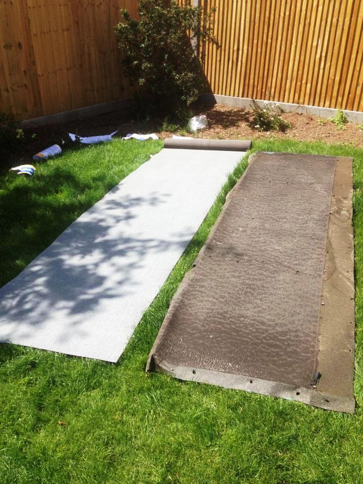 ruth s garden makeover mh landscapes. Black Bedroom Furniture Sets. Home Design Ideas