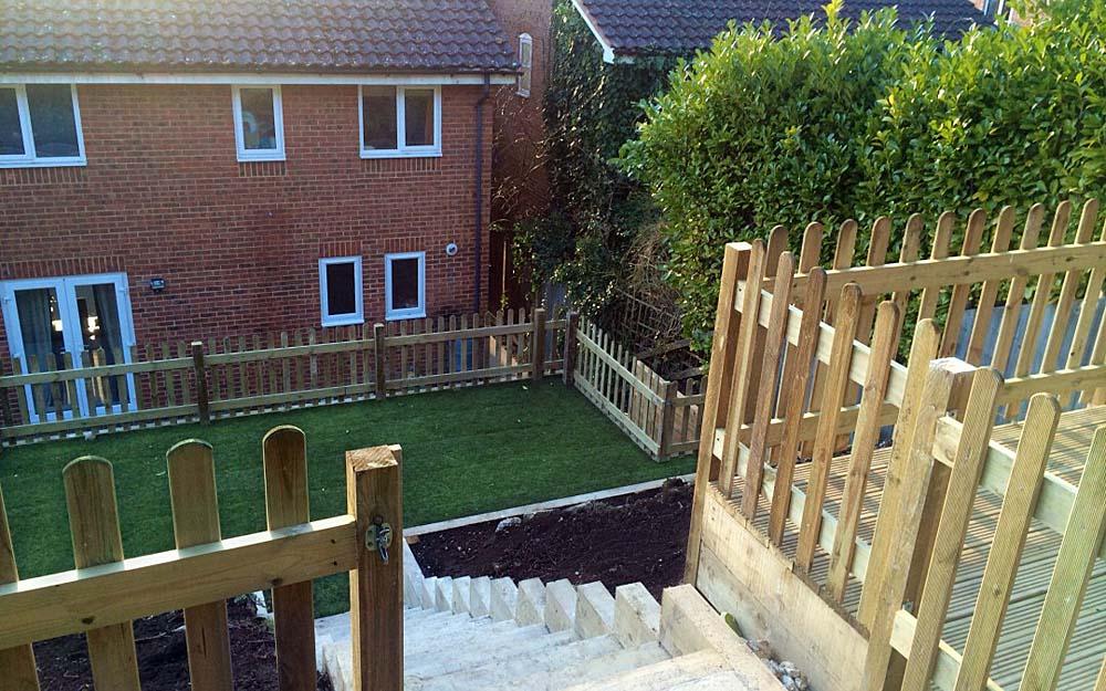 Giles & Carolyn's Garden Makeover