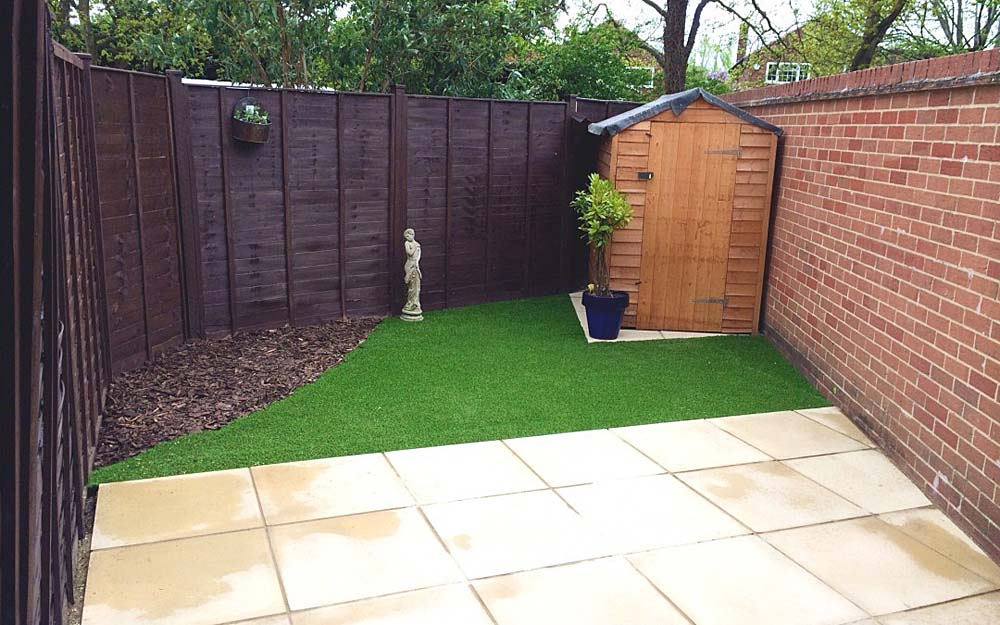 Emily S Small Garden Transformation Mh Landscapes
