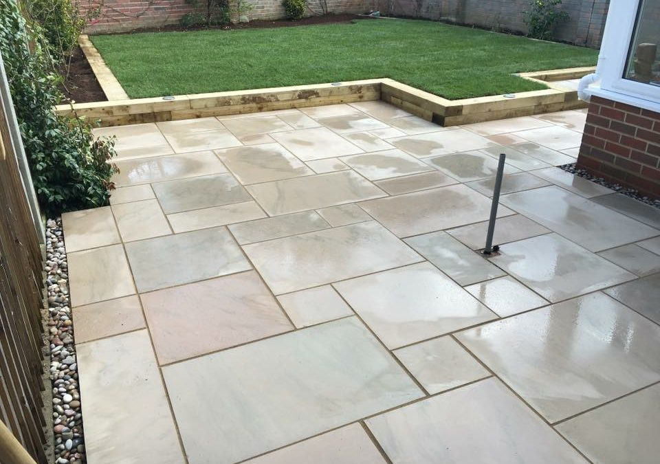 Kerry's New Patio And Lawn