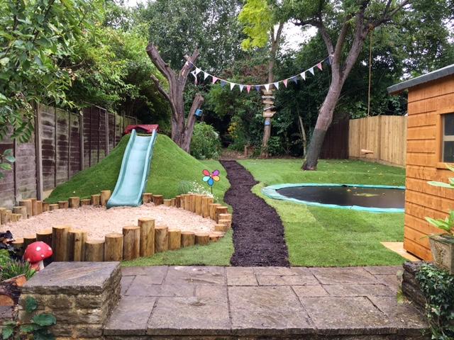 gary sophies childrens play area - Garden Design Children S Play Area