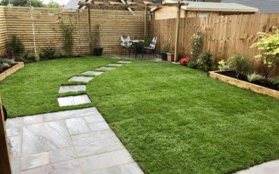 Sanjay's New Build Garden