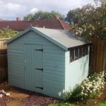 new shed roof