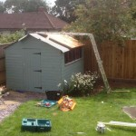 replacing shed roof
