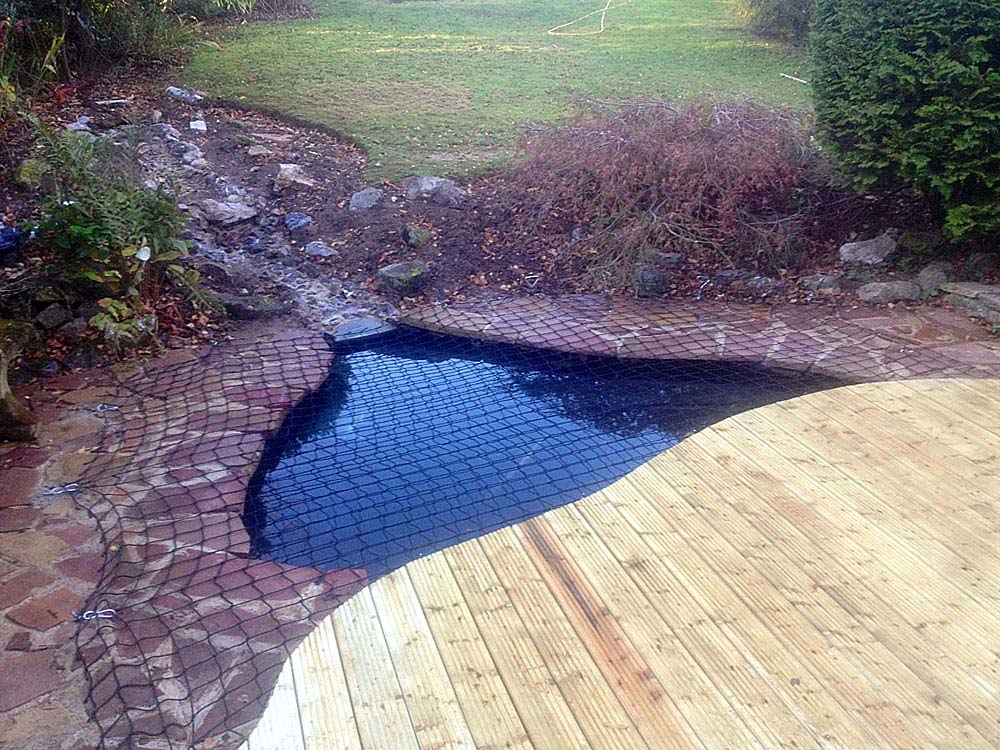 Richard's Pond and Decking