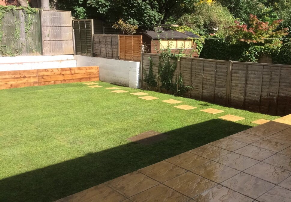 Judith's Patio and Lawn Extension