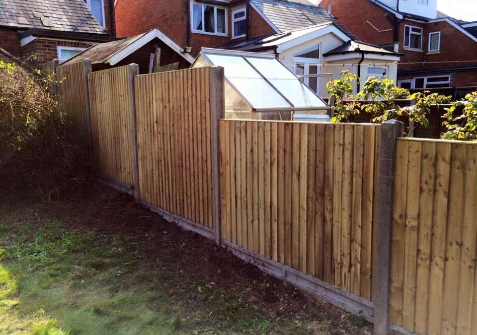 Yasmin's 4ft Feather-Edge Fencing